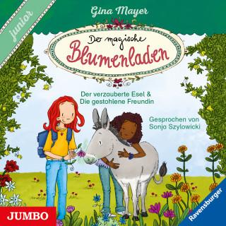 Gina Mayer: Der magische Blumenladen. junior. Der verzauberte Esel und Die gestohlene Freundin