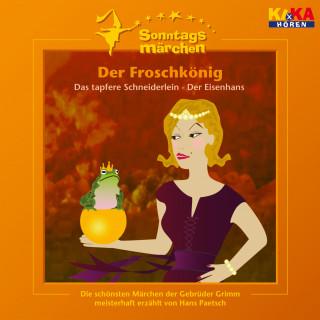 Jacob Ludwig Karl Grimm, Wilhelm Carl Grimm: Der Froschkönig / Das tapfere Schneiderlein / Der Eisenhans (KI.KA Sonntagsmärchen)