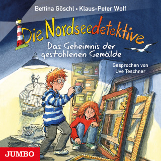 Klaus-Peter Wolf, Bettina Göschl: Die Nordseedetektive. Das Geheimnis der gestohlenen Gemälde