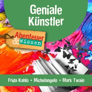Berit Hempel, Sandra Pfitzner: Geniale Künstler: Frida Kahlo, Michelangelo, Mark Twain