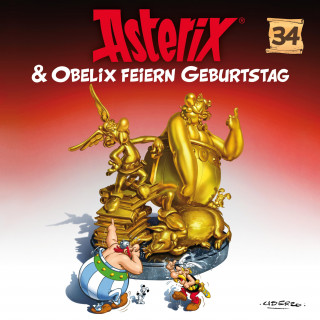 Albert Uderzo, Angela Strunck, René Goscinny: 34: Asterix & Obelix feiern Geburtstag