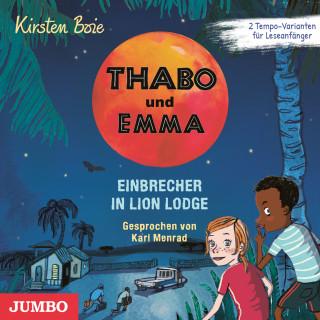 Kirsten Boie: Thabo und Emma. Einbrecher in Lion Lodge