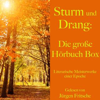 Johann Wolfgang von Goethe, Friedrich Schiller: Sturm und Drang: Die große Hörbuch Box