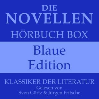 Johann Wolfgang von Goethe, Friedrich Schiller, Franz Kafka: Die Novellen Hörbuch Box – Blaue Edition