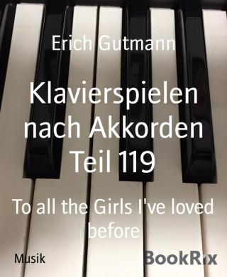 Erich Gutmann: Klavierspielen nach Akkorden Teil 119