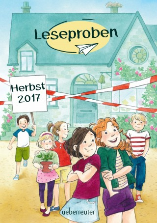 Usch Luhn, Michaela Holzinger, Magnus Myst, Caroline Carlson, Andreas Hüging, Oliver Schlick, Mara Lang: Ueberreuter Lesebuch Kinder- und Jugendbuch Herbst 2017