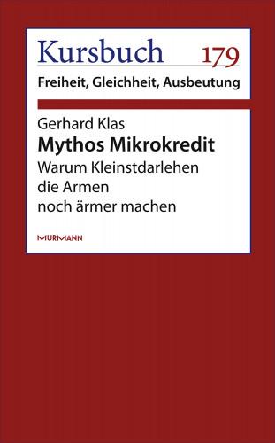 Gerhard Klas: Mythos Mikrokredit