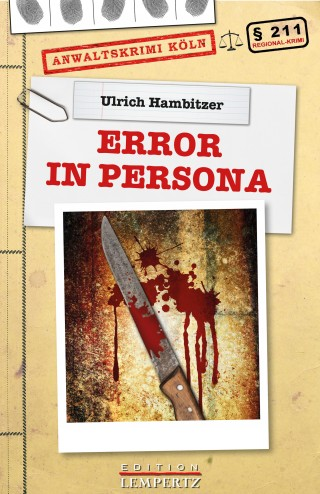 Ulrich M. Hambitzer: Error in Persona