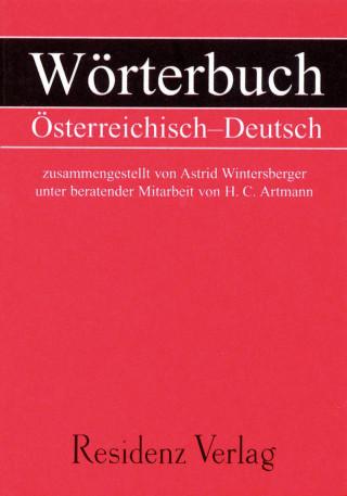 H.C Artmann, Astrid Wintersberger: Wörterbuch Österreichisch - Deutsch
