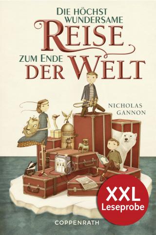 Nicholas Gannon: XXL-Leseprobe: Die höchst wundersame Reise zum Ende der Welt