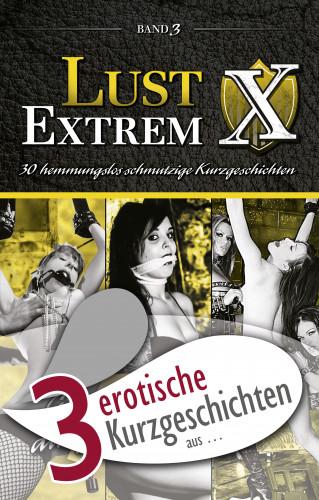 "Sarah Lee, Jenny Prinz, Lisa Cohen: 3 erotische Kurzgeschichten aus: ""Lust Extrem 3: Gnadenlos ausgeliefert"""