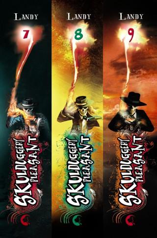 Derek Landy: Skulduggery Pleasant: Band 7-9 inklusive eShort