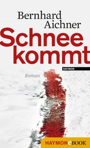 Bernhard Aichner: Schnee kommt