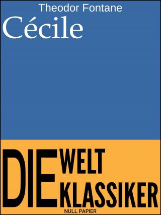 Theodor Fontane: Cécile