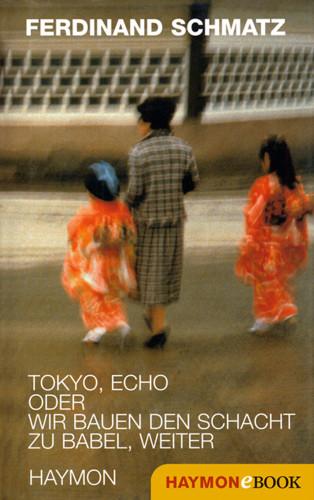 Ferdinand Schmatz: Tokyo, Echo oder wir bauen den Schacht zu Babel, weiter