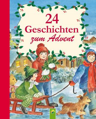 Ingrid Annel, Sarah Herzhoff, Ulrike Rogler, Sabine Streufert: 24 Geschichten zum Advent