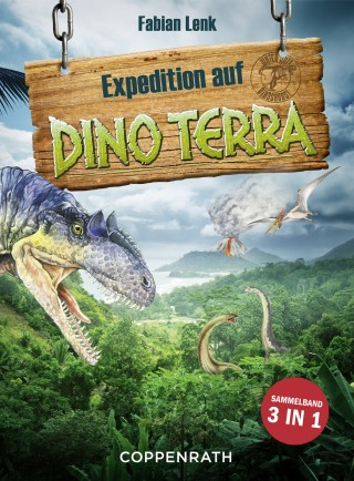 Fabian Lenk: Expedition auf Dino Terra - Sammelband 3 in 1