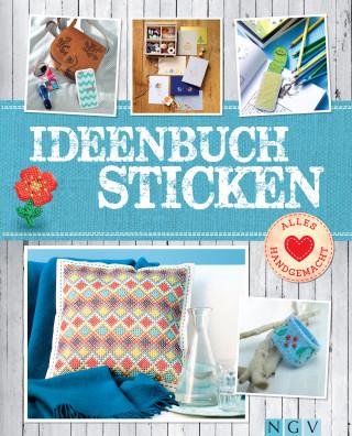 Annemarie Arzberger, Manuel Obriejetan, Patricia Ziegler: Ideenbuch Sticken - Mit Stickmustern zum Download