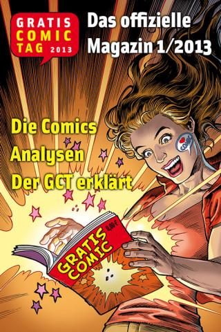 Gratis Comic Tag: Gratis Comic Tag Magazin 1/2013