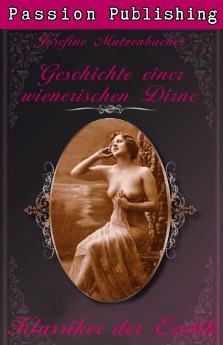 Josefine Mutzenbacher: Klassiker der Erotik 29: Geschichte einer wienerischen Dirne