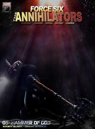 Drew Spence: Force Six, The Annihilators 05 Hammer of God