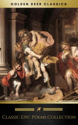 Virgil, Homer, Golden Deer Classics, William Shakespeare, John Milton: Classic Epic Poems Collection vol. 1 (Golden Deer Classics)