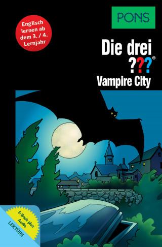Marco Sonnleitner: PONS Die drei ??? Fragezeichen Vampire City mit Audio