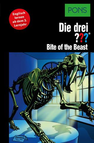 Kari Erlhoff: PONS Die drei ??? Fragezeichen Bite of the Beast