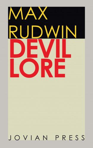 Max Rudwin: Devil Lore