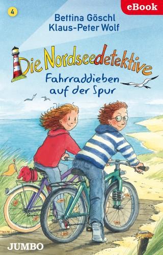 Bettina Göschl, Klaus-Peter Wolf: Die Nordseedetektive. Fahrraddieben auf der Spur
