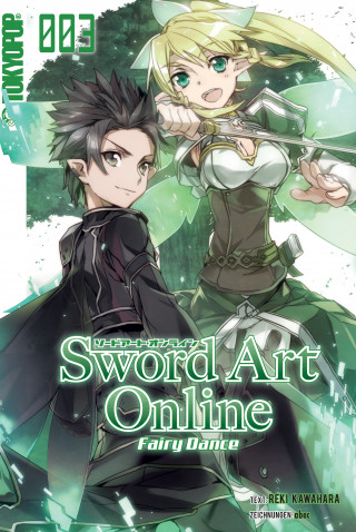 Tamako Nakamura, Reki Kawahara: Sword Art Online - Light Novel 03