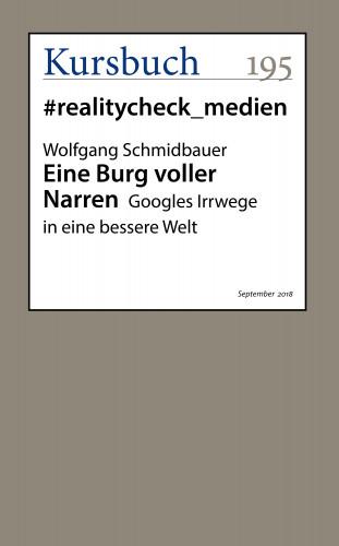 Wolfgang Schmidbauer: Eine Burg voller Narren