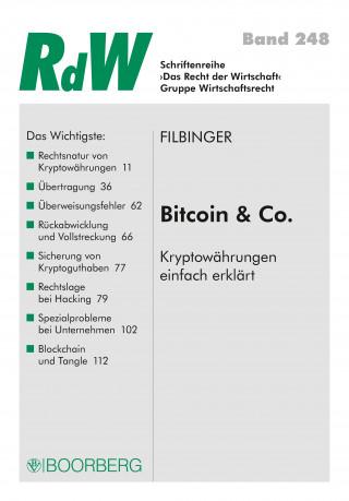 Konstantin Filbinger: Bitcoin & Co