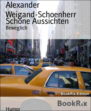 Alexander Weigand-Schoenherr: Schöne Aussichten