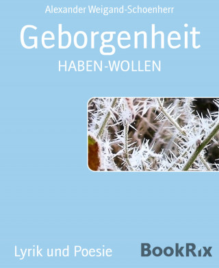 Alexander Weigand-Schoenherr: Geborgenheit