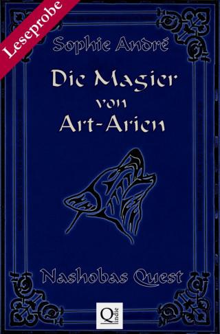 Sophie André: Die Magier von Art-Arien - Band 1 Leseprobe XXL