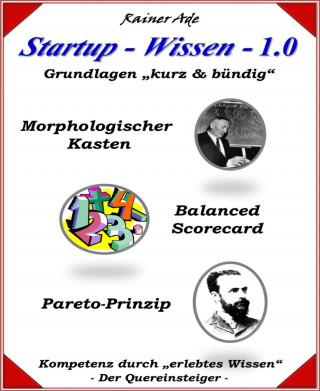 Rainer Ade: Startup - Wissen - 1.0