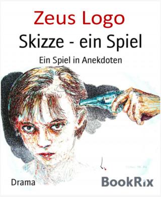 Zeus Logo: Skizze ein Spiel