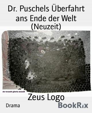 Zeus Logo: Dr. Puschels Überfahrt ans Ende der Welt