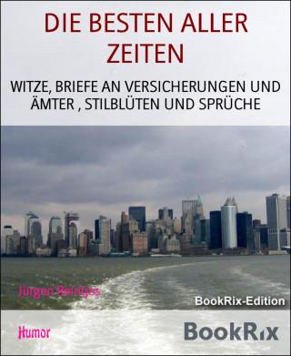 Jürgen Reintjes: DIE BESTEN ALLER ZEITEN