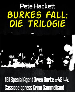 Pete Hackett: Burkes Fall: Die Trilogie