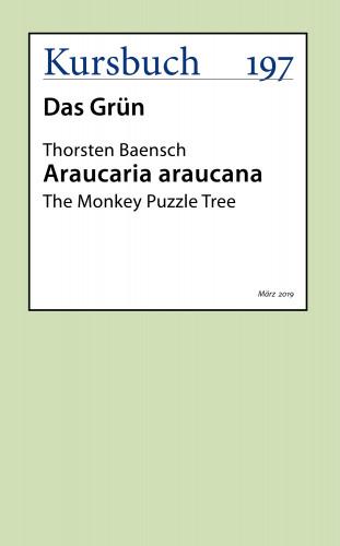 Thorsten Baensch: Araucaria Araucana