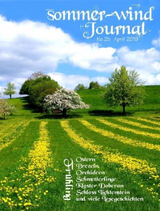Angela Körner-Armbruster: sommer-wind-Journal April 2019