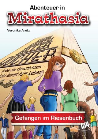 Veronika Aretz: Gefangen im Riesenbuch