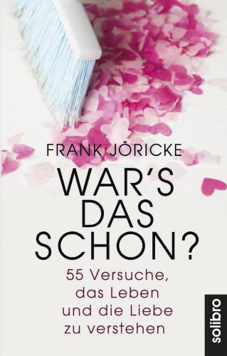 Frank Jöricke: War's das schon?