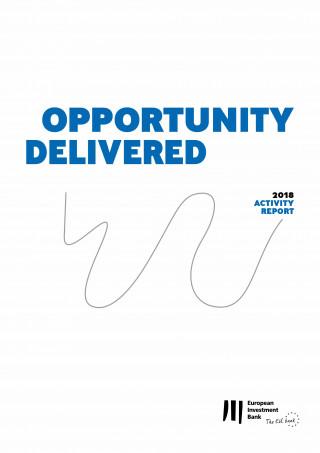 European Investment Bank: European Investment Bank Activity Report 2018