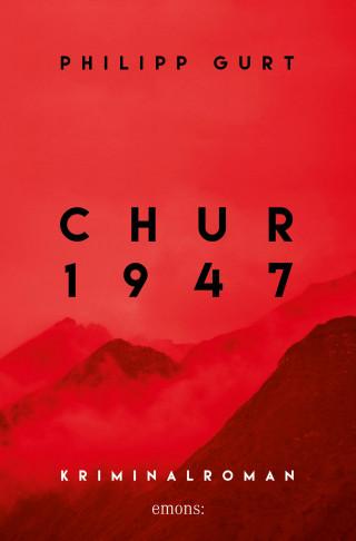 Philipp Gurt: Chur 1947 (rot)