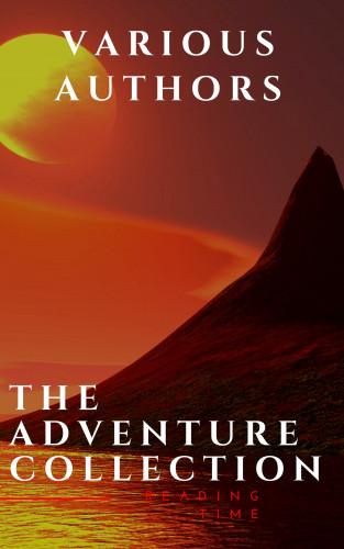 Jonathan Swift, Jack London, Rudyard Kipling, Howard Pyle, Robert Louis Stevenson, Reading Time: The Adventure Collection: Treasure Island, The Jungle Book, Gulliver's Travels...