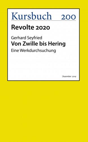 Gerhard Seyfried: Von Zwille bis Hering