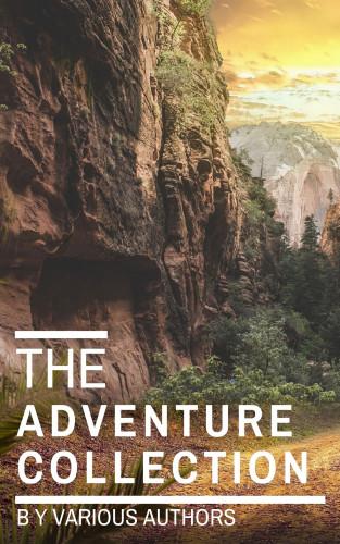 Jonathan Swift, Jack London, Rudyard Kipling, Howard Pyle, Robert Louis Stevenson: The Adventure Collection: Treasure Island, The Jungle Book, Gulliver's Travels....